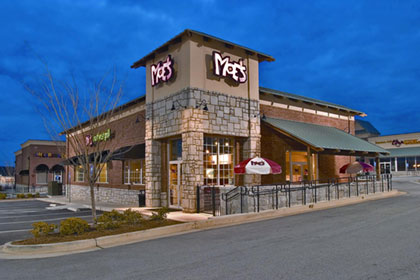 Moe's Southwest Grill is a fast-casual concept featuring fresh southwest fare in a fun and engaging atmosphere with over 400 locations nationwide.