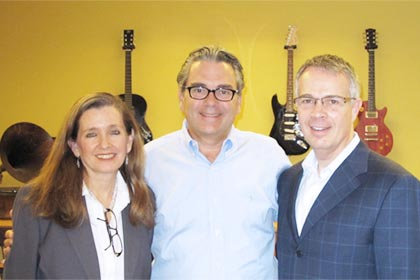 From left to right: Ellen Rosa, Director of Core Applications Engineering, Gary Churgin, President and CEO, and Lou Trebino, Senior Vice President and CIO