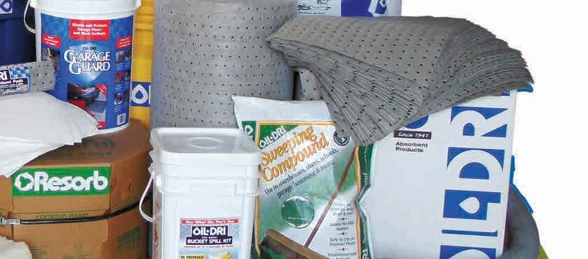 Oil-Dri manufacturers and supplies absorbent products for industrial, automotive and everyday applications.