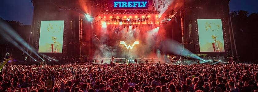 Red Frog Events Firefly concert