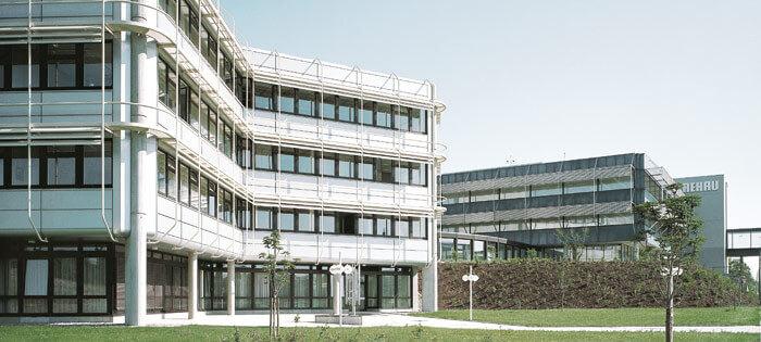 REHAU headquarters in Rehau Germany