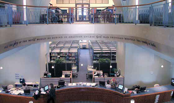 The Gill Library.