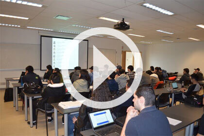 Watch a snapshop of the TEC2015 sessions about mobile apps for IBM i presented by Seneca students.