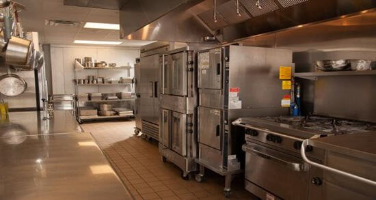 Intelligrated corporate dining kitchen