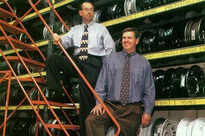 Timothy Renehan, Co-President, and David Fiorello, Sales Manager – StoneWheel