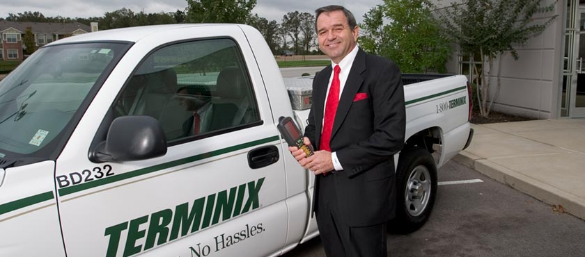 The Terminix International Company is the largest termite is pest control company in the world