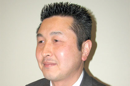 Mr. Minami, Manager of Business Information Systems at Oriental Diamond