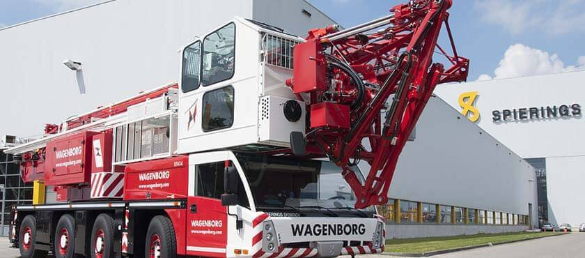 Koninklijke Wagenborg's subsidiary companies are active in shipping, tugboats and offshore supply services, passenger services, stevedoring, forwarding and warehousing, crane rental, (special) road transport, assembly of prefab constructions.